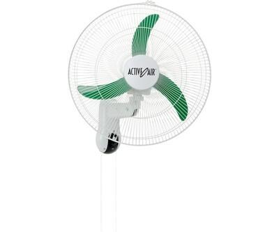 Active Air Supreme Oscillating 2703 CFM Wall Mount Fan 3 speeds