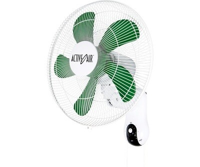 Active Air Supreme Oscillating 2224 CFM Wall Mount Fan 3 speeds