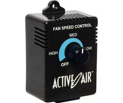 Active Air Analog Fan Speed Controller for Inline/ Centrifugal Fans 350 watt 120 volt