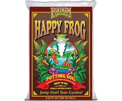 Fox Farm Happy Frog Potting Soil