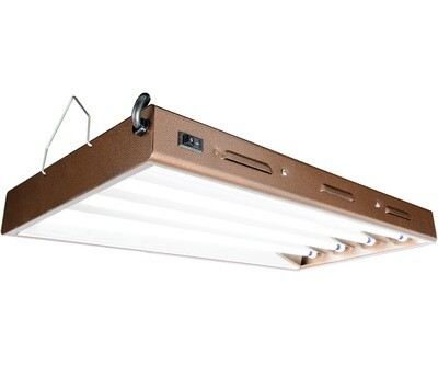 Agrobrite Designer Series High Output HO Fluorescent T5 Grow Light Systems with 6400K Lamps