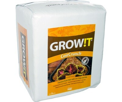 GROW!T Coco Coir Crunch Mix 3.8 cubic foot 70 pound