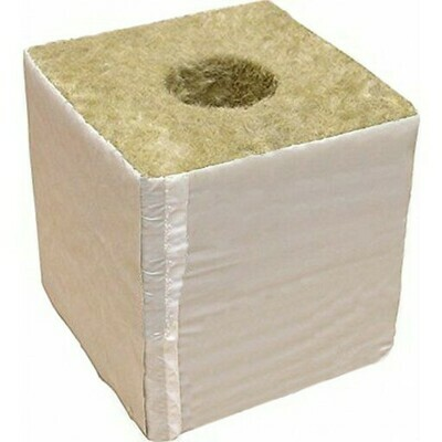 Red Flag RedRock 42/40 Rockwool Block with hole 6x6x5.3 inch