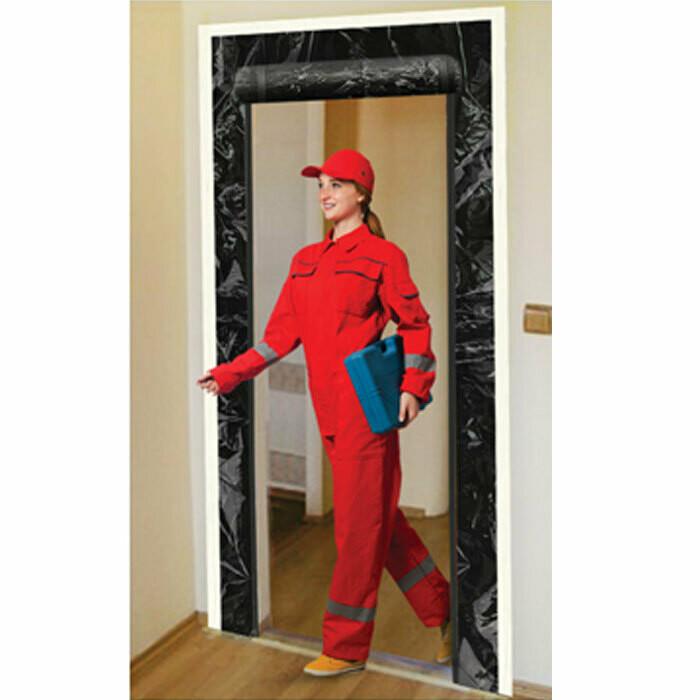 Grow1 Adhesive Zipper Door