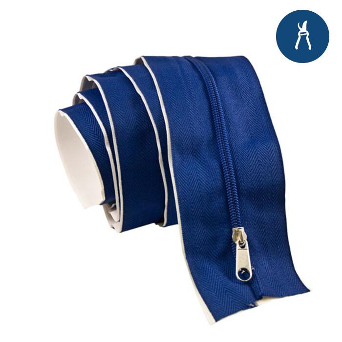 Grow1 Adhesive Zipper Blue 6.5 foot