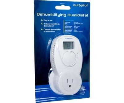 Autopilot Dehumidifying 15 Amp Humidistat with Digital Display   120 volt