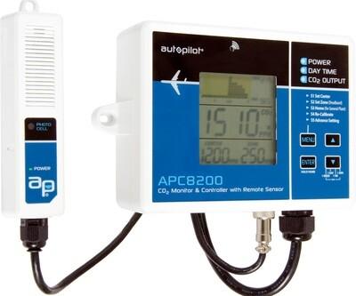 Autopilot CO2 Monitor & Controller with Remote Sensor 15 foot