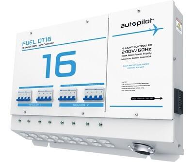 Autopilot Fuel DT16 Light Controller Dual Triggers 16000 light 240 volt 100 amps 80 amps