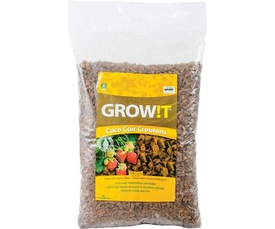 GROW!T Coco Croutons 28 liter 5.1 pound
