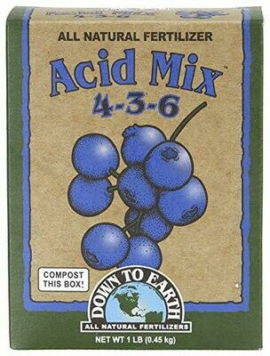 Down to Earth Acid Mix 4-3-6 6 pound