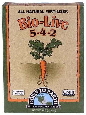 Down to Earth Bio Live 5-4-2