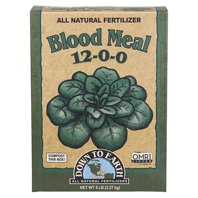 Down to Earth Blood Meal 12-0-0