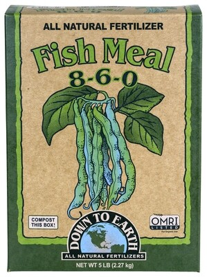 Down to Earth Fish Meal 8-6-0