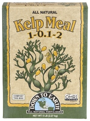 Down to Earth Kelp Meal 1-0.1-2
