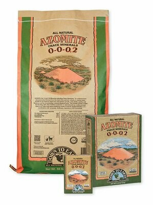 Down to Earth SR Powder Azomite Trace Minerals 0-0-0.2