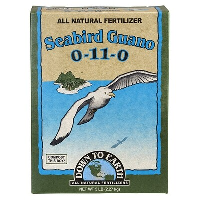 Down to Earth Seabird Guano 0-11-0