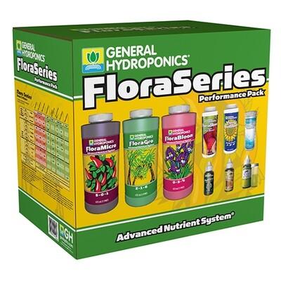 General Hydroponics GH Flora Performance Pack Kit