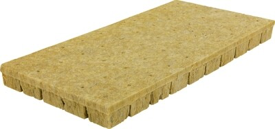 Grodan A-OK 50/40 Wrapped with Hole Rockwool 50 Plug Sheet 2x2x2 inch 10x20 inch