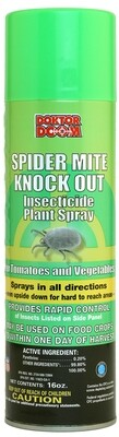 Doktor Doom Spider Mite Knock-Out Pyrethrin Fogger 1 pint
