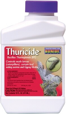 Bonide Thuricite BT Concentrate Insecticide 1 pint