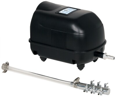 EcoPlus Pro Series 20 Linear Air Pump with Manifold 400 gallon per hour