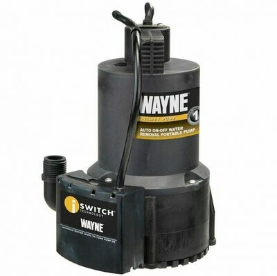 Wayne Auto On/ Off Thermoplastic Utility Pump 1/4 horsepower