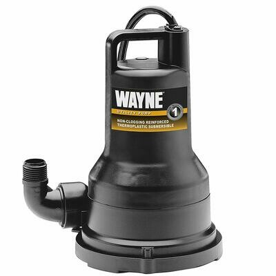 Wayne Oil-Free Submersible Thermoplastic Utility Pumps