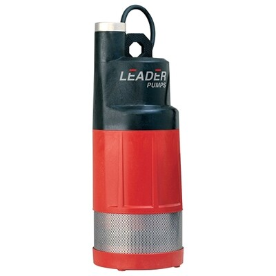 Leader Ecodiver Submersible Water Pumps 2, 3 or 4 impeller option; multi-stage; includes 16 foot power cord, 1 inch discharge