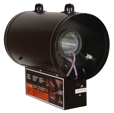 Uvonair CD Inline Duct Ozonator 1 Cell 8 inch