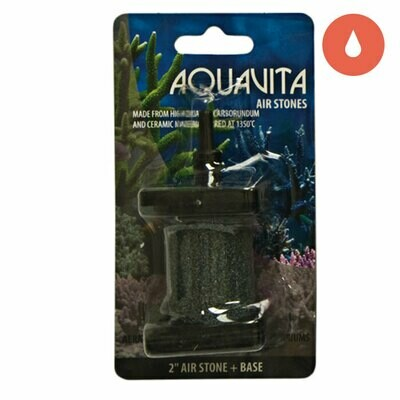 AquaVita Cylinder Air Stone with base