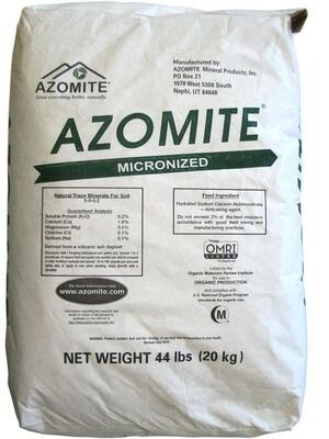 Azomite Micronized Natural Trace Minerals 44 pound
