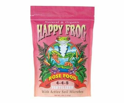 Fox Farm Happy Frog Rose Food 4-4-5 18 pound