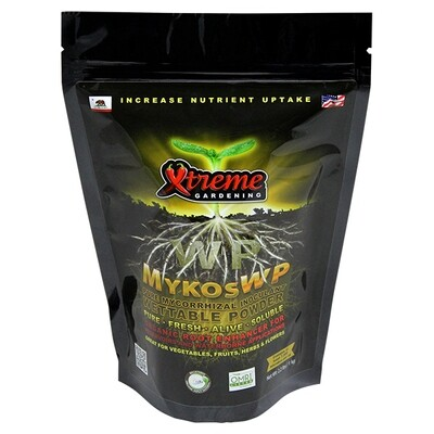 Xtreme Gardening Wettable Powder WP Soluble Mykos Pure Mycorrhizal Inoculum