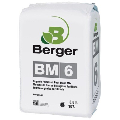 Berger BM6 HP Myco 3.8 cubic foot bale