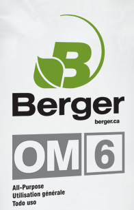 Berger OM6 3.8 cubic foot bale