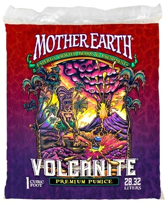 Mother Earth Volcanite Premium Pumice Volcanic Glass 1 cubic foot