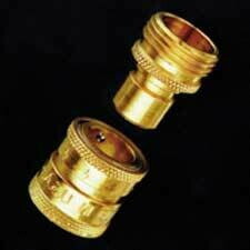 Dramm Heavy-Duty Brass Quick-Disconnect Fitting 3/4 inch