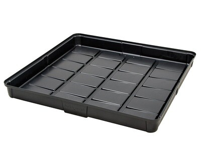 Active Aqua Low Rise Black Flood Table Trays