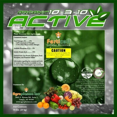 Ferticell Organic Active 10-3-10 44 pound