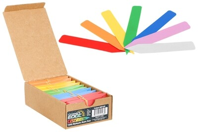 Grower's Edge Plant Stakes Labels Various Colors - Boxes of 1000