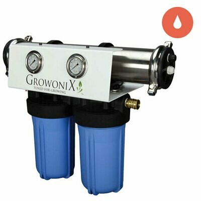 GrowoniX Reverse Osmosis Filter System 1000 gallon per day