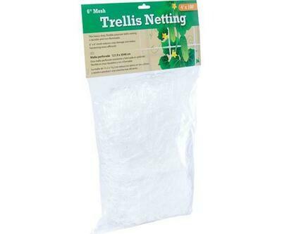 Soft Mesh Trellis Netting 6 inch squares