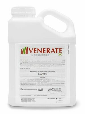 Marrone Bio Innovations Venerate XC Biological Insecticide and Miticide 2.5 Gallon