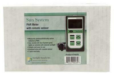 Sun System Par Meter with Remote Sensor