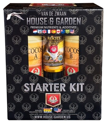 House & Garden Cocos A and B Pro Starter Kit