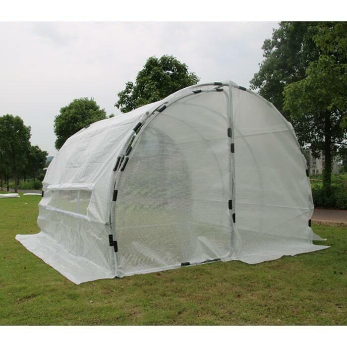 Grow1 Heavy Duty Hoop House Greenhouses Various Sizes