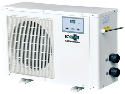 EcoPlus White Commerial Grade Water Chillers and Fitting Kit