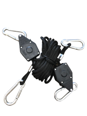 Sustainable Rope Ratchet Riser Light Hanger 6 foot 150 pound 2/ pack