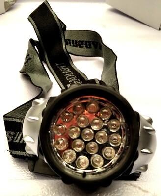 BioChem Grow LED Headlamp Green Light Photoperiod-Friendly 4.5 volt 19 watt 19 diode