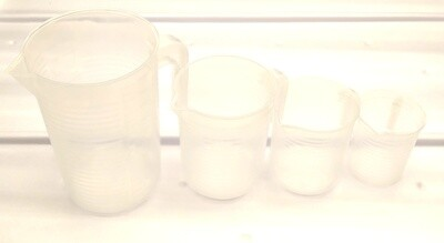 BioChem Grow Graduated Measuring Containers